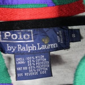 Polo by Ralph Lauren Jackets & Coats - Polo Ralph Lauren Nylon Colorblock Patch Jacket